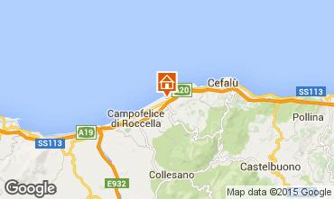 Mapa Cefalù Apartamentos 85238