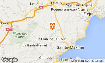 Mapa Saint Tropez Vivenda 87387