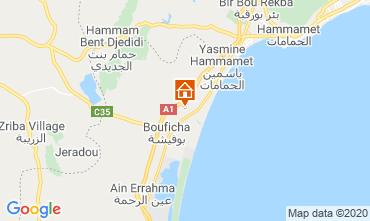 Mapa Hammamet Apartamentos 120325