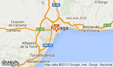 Mapa Málaga Apartamentos 68454