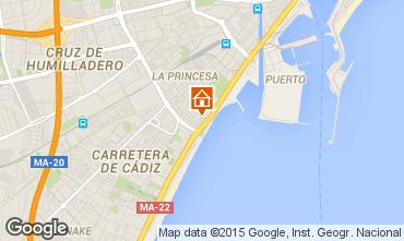 Mapa M�laga Apartamentos 68454