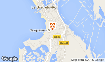 Mapa Le Grau du Roi Apartamentos 94084