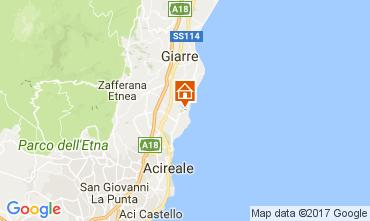 Mapa Acireale Vivenda 83669