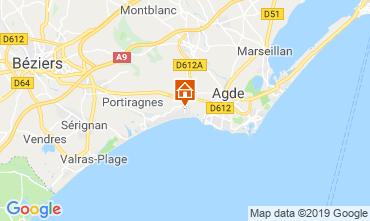 Mapa Vias Praia Mobil Home 10473