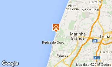 Mapa S�o Pedro de Moel Casa 85021