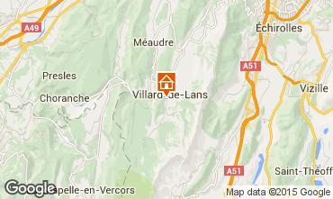 Mapa Villard de Lans - Corrençon en Vercors Vivenda 101987