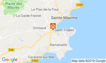 Mapa Saint Tropez Apartamentos 103890