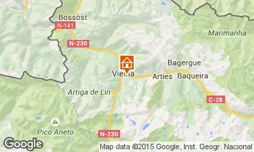 Mapa Baqueira-Beret Apartamentos 90139