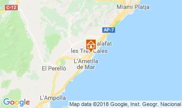 Mapa La Ametlla de Mar Vivenda 108717