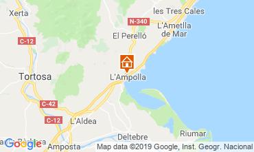 Mapa L'ampolla Vivenda 119055