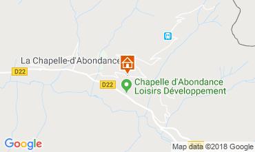 Mapa La Chapelle d'Abondance Apartamentos 117457