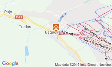 Mapa Baqueira-Beret Apartamentos 73617