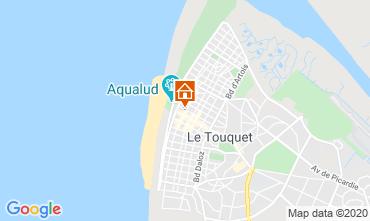 Mapa Le Touquet Apartamentos 7771