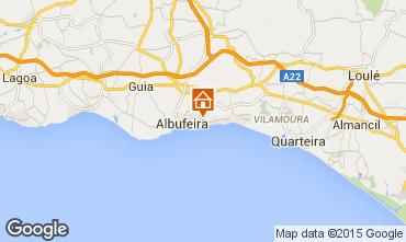 Mapa Albufeira Apartamentos 11464
