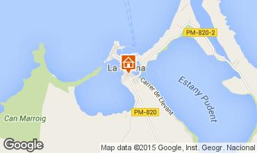 Mapa Formentera Apartamentos 31557