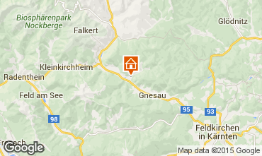 Mapa Bad Kleinkirchheim Apartamentos 35449