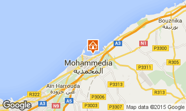 Mapa Mohammedia Apartamentos 73277