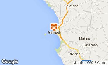 Mapa Gallipoli Apartamentos 102767