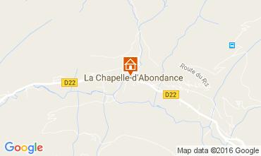 Mapa La Chapelle d'Abondance Apartamentos 48985
