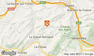 Mapa Le Grand Bornand Apartamentos 95442