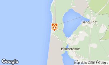 Mapa Biscarrosse Quarto de hóspedes 77728