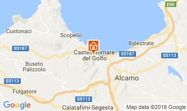 Mapa Castellammare del Golfo Apartamentos 113998