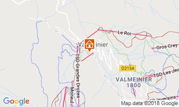Mapa Valmeinier Casa de turismo rural/Casa de campo 117285