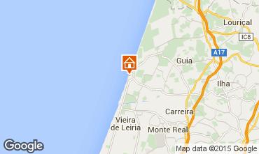 Mapa Praia do Pedrog�o Apartamentos 60215