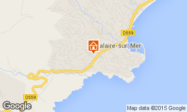 Mapa Cavalaire-sur-Mer Apartamentos 29401