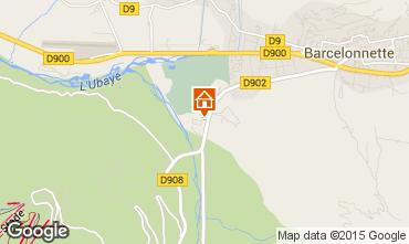 Mapa Barcelonnette Estúdio 57041