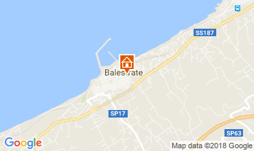 Mapa Balestrate Apartamentos 114280