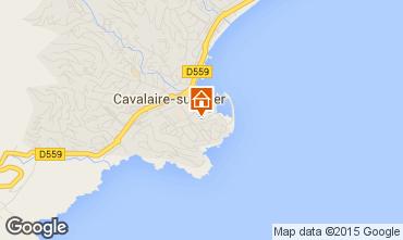 Mapa Cavalaire-sur-Mer Apartamentos 9053