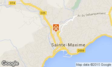 Mapa Sainte Maxime Casa 8557