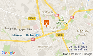 Mapa Marraqueche Apartamentos 105707