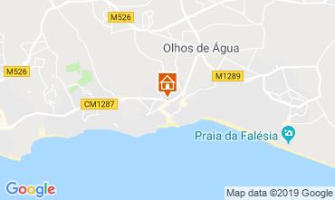 Mapa Albufeira Apartamentos 117449