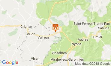 Mapa Nyons Casa 113451