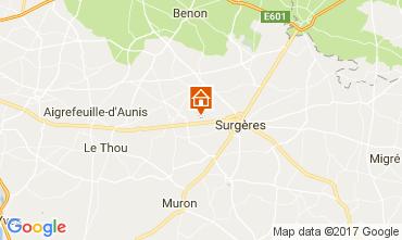 Mapa La Rochelle Casa de turismo rural/Casa de campo 108213