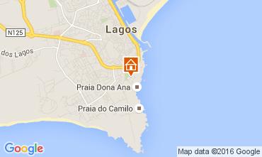 Mapa Lagos Apartamentos 62997