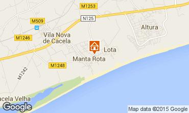 Mapa Vila Real de Santo António Apartamentos 63105