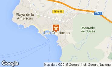 Mapa Los Cristianos Apartamentos 95644