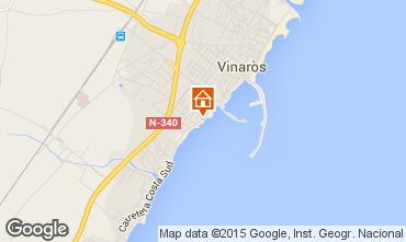 Mapa Vinar�s Apartamentos 57683