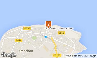 Mapa Arcachon Apartamentos 67051