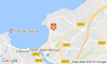 Mapa Saint Jean de Luz Apartamentos 114915