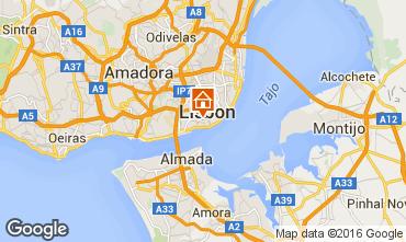 Mapa Lisboa Apartamentos 37349