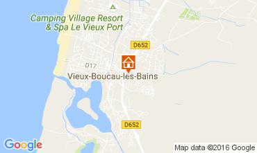 Mapa Vieux Boucau Estúdio 107358