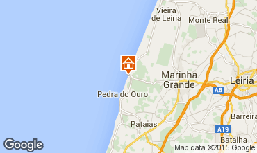 Mapa São Pedro de Moel Casa 33057