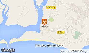 Mapa Alvor Apartamentos 41571