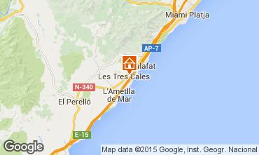 Mapa La Ametlla de Mar Vivenda 60101