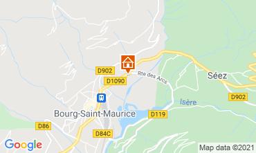 Mapa Les Arcs Estúdio 129