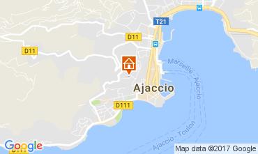 Mapa Ajaccio Apartamentos 99826